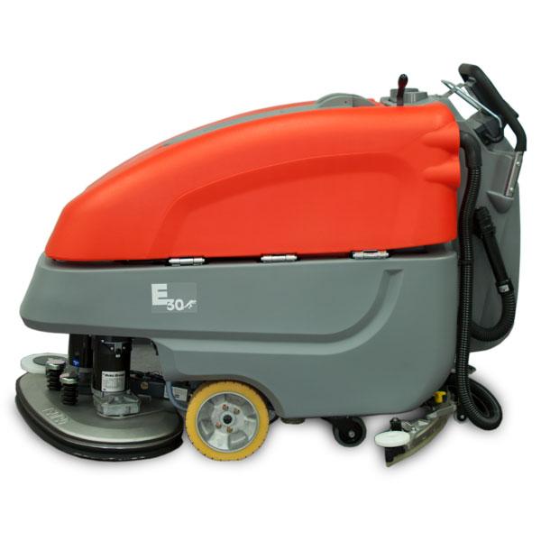 e30 disc brush floor scrubber from minuteman